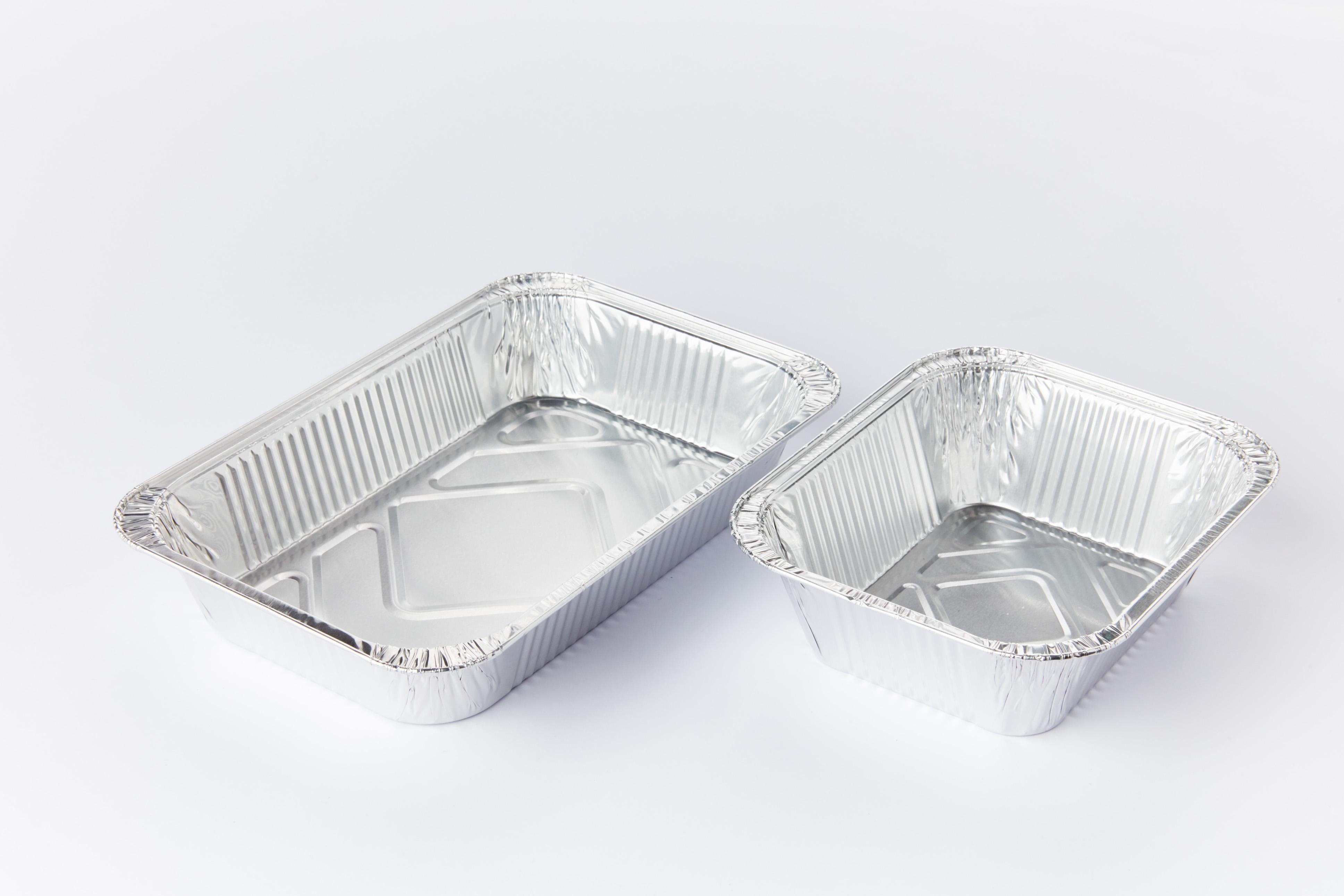 Contenitori in alluminio per alimenti